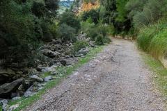 Camino hacia Tossals Verds