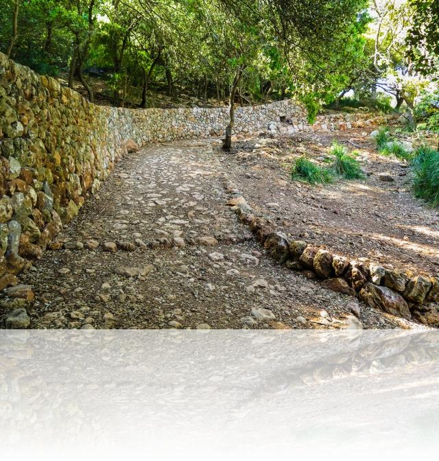 Camí des Correu - GR221, zona restaurada