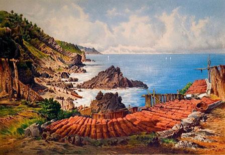 Grabado de s'Estaca del Die Balearen