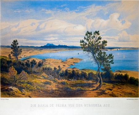 Bahía de Palma desde na Burguesa