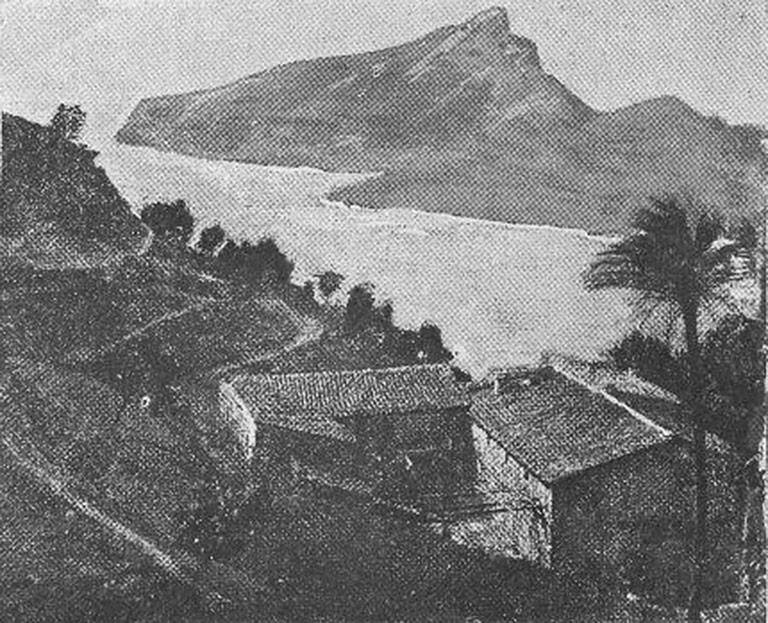Fotografía antigua de La Trapa