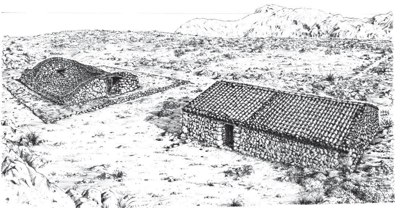 Casa y Pou de neu de'n Galileu