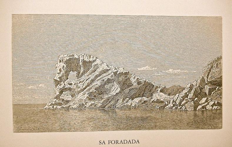 Na Foradada, Die Balearen