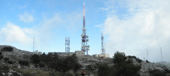 Antenas de Alfabia (Puig de s'Aritjar i Camí des Través)