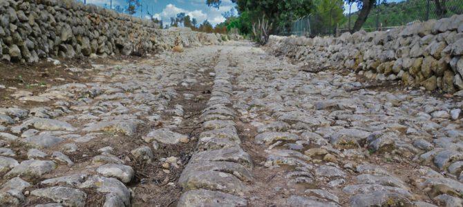 Volta Consell-Alaró por el camí Romà