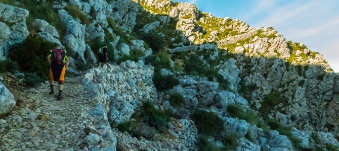 Voltes de'n Galileu, Camí de Comafreda y Pas de n'Arbona