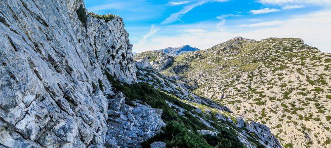Serra de Cornavaques y Pas de's Pescadors