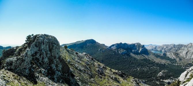 Serra dels Teixos desde la Font des Noguer