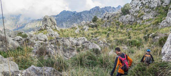 Clots Carbons por el Pas de s'Argentó y Pas de s'Estaca