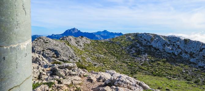 Puig d'Es Teix por Son Moragues y Camí des Caragol