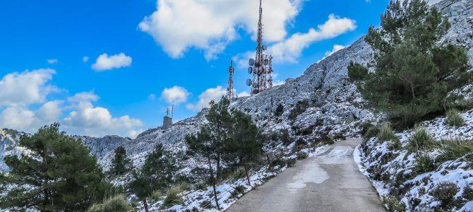 De Sóller a Bunyola por el Camí des Alous y Antenas de Alfàbia