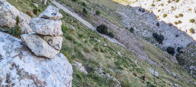 Pas de na Bel (Massanella) y Canal Norte del Galileu
