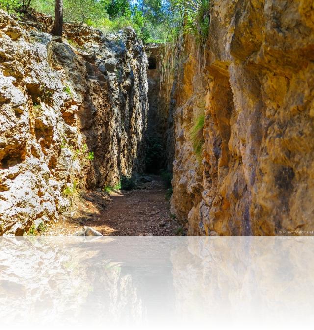Sa Trinxera, antiguas minas de yeso