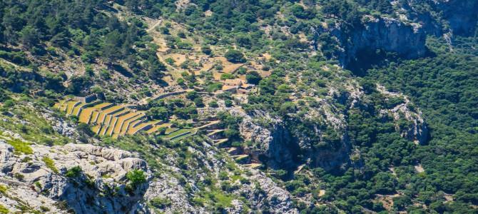 Camí Vell Barranc de Biniaraix, Es Cornadors y camí de s'Arrom