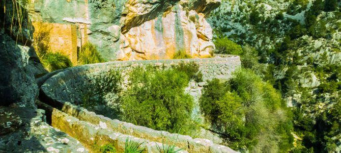 Síquia de Solleric (Túneles), Cúber y Tossals Verds