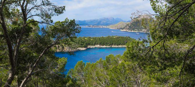 Vuelta Formentor : Cases de Cala Murta, Hotel Formentor i Pla de'n Pujol