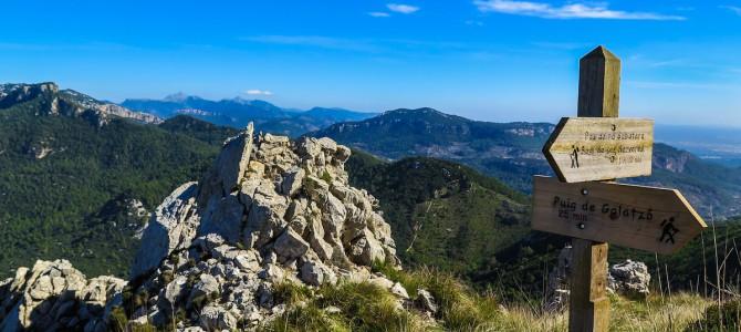 Puig Galatzó por Es Grau, Font de Dalt y Font de's Pi