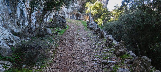 Camí vell del Castell y Pas de s'Estaló