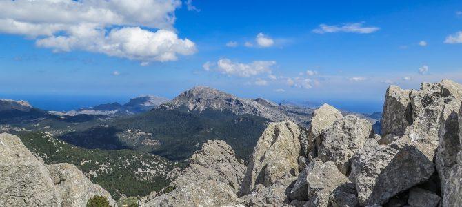 Puig de Alí pel Comellar dels Horts y Comellar de s'Homo