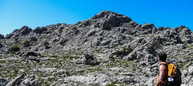 Muntanya de Montcaire por el Pas des Marge y Pas des Pinot
