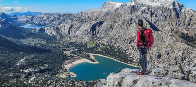 Serra des Teixos desde el Gorg Blau (Nevado)