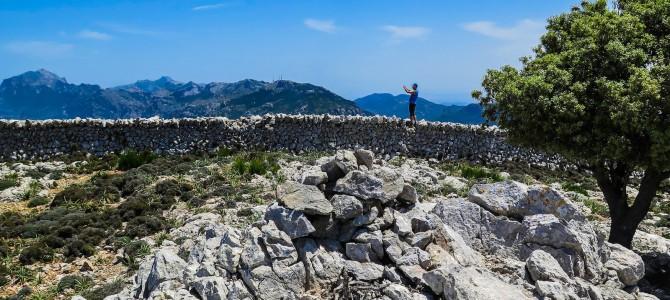 Barranc de Sa Gubia y Puig de Sa Font
